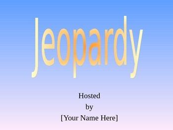 Stars Jeopardy