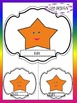 Stars - Editable Labels - Name tags - Task cards - Back to
