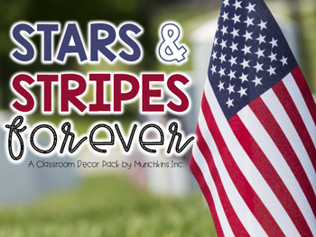 Stars & Stripes Forever {A Décor Pack}