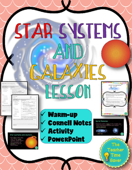 Stars Systems and Galaxies Lesson (Notes, PowerPoint, and