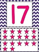 Stars and Chevron Number Posters 0 - 20