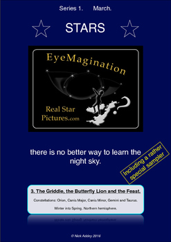 Learn Stars and Constellations using amazing night sky pic