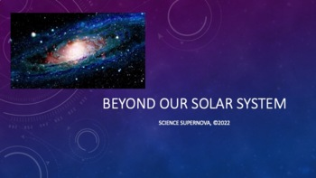 Stars and Galaxies PPT with Student Notetaking Guide
