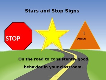 Stars and Stop Signs: Behavior Management Plan for the Classroom