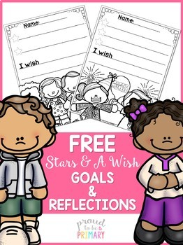 Stars and a Wish Goals & Reflections Activity