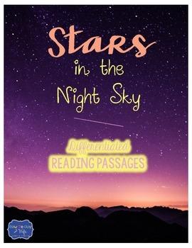 Stars in the Night Sky {Differentiated Close Reading Passa