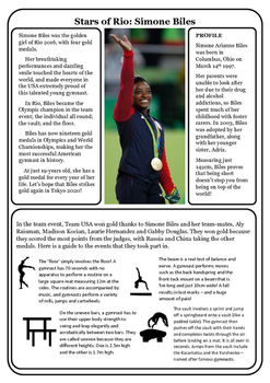 Stars of Rio: Simone Biles