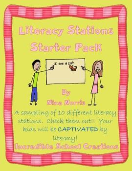 Starter Pack for Literacy Stations