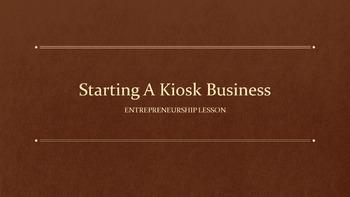 Starting A Kiosk Lesson