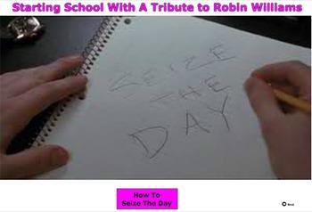 Starting School With A Tribute to Robin Williams - Bill Burton