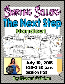 Starting Sellers: The Next Step { Session TF23}