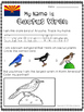 State Birds of the USA Activity (50 Pages)