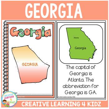 State Book Georgia