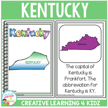 State Book Kentucky