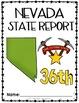Nevada State Book {Map, Bird, Flag, Flower, Landmark, Anim