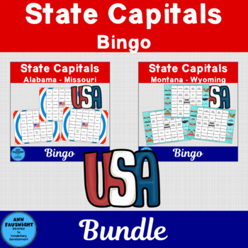 State Capitals Bingo 2 Complete Games
