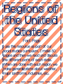 State Fact Page