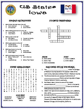 State Fact Sheet - Iowa