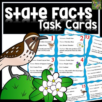 State Fact Task Cards