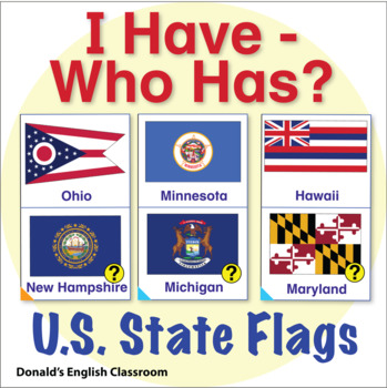 State Flag I Have Who Has Activity