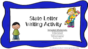 State Letter Writing Activity