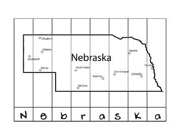 State Name Puzzles- Nebraska