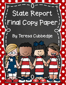 State Report Final Copy Paper