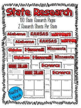 State Research Flyers