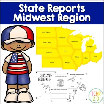 Midwest Region State Research Bundle United States