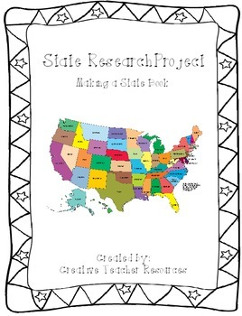 State Research Project: Create a State Book