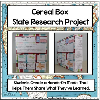 State Research Project - Hands On Cereal Box Presentation