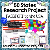 50 States Research * Passport to the USA Tourism Director