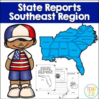 Southeast Region State Research Bundle United States