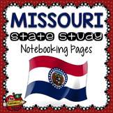 Missouri State Study Notebooking Pages