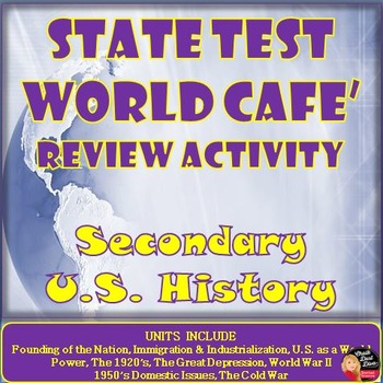 State Test Review (U.S. History) World Café Cooperatie  Activity