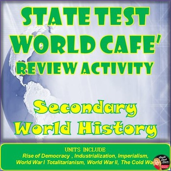 State Test Review (World History) World Café Cooperative Activity