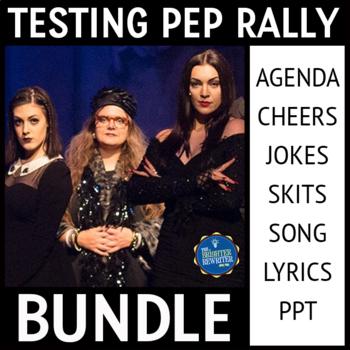 State Test Taking Pep Rally Bundle