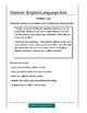 10 State Test Writing Prompts, Grades 4-6, in Test Format