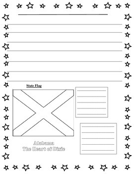 State flag research paper