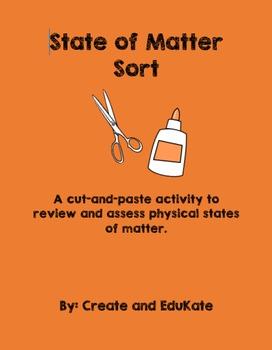 State of Matter Sort