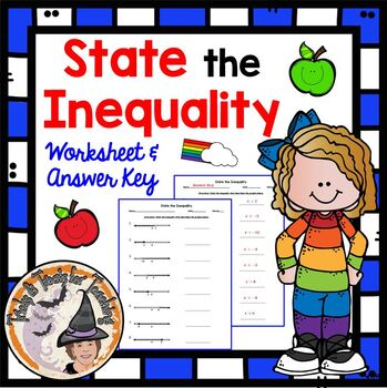 State the Inequality Graphs Algebra Equations Inequalities