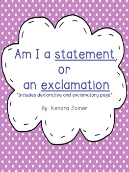 Statement or Exclamation Sort