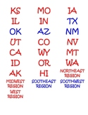 States Capitals Matching Activity