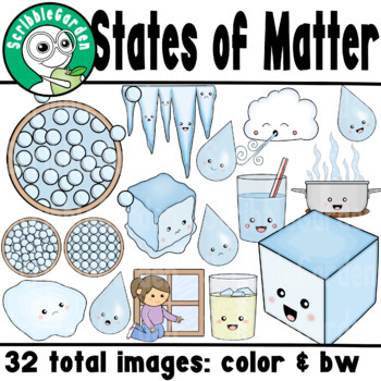 States of Matter ClipArt