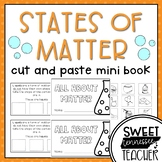 States of Matter Cut & Paste Mini-Booklet