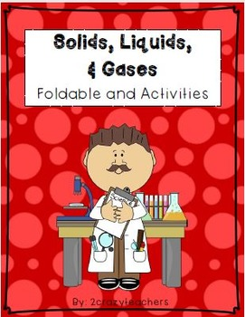 States of Matter Foldable and Activities