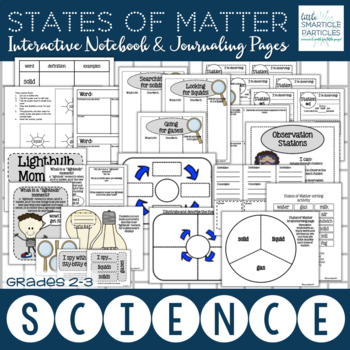 States of Matter: Interactive Notebook & Journaling Pages