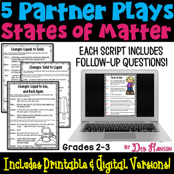 States of Matter: Partner Plays