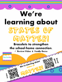States of Matter QR Code Bracelets with video & game - Sch