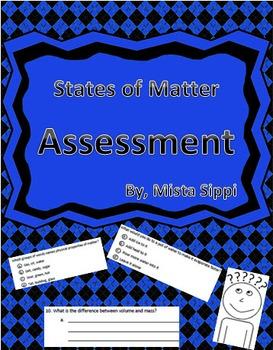 States of Matter Quiz